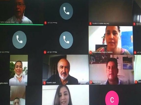 De forma virtual, el Gerente de FNC conversó con líderes gremiales municipales del Tolima