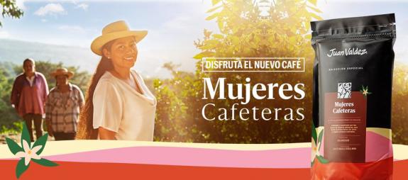 Asociaciones orgullosamente tolimenses, en el café Mujeres Cafeteras de Juan Valdez